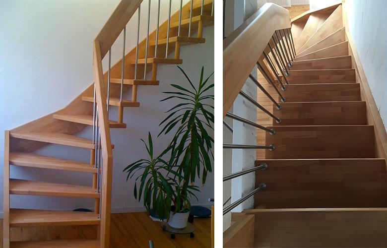 home styling projekt mit neuer treppe wohnraum besser nutzen fokus raum. Black Bedroom Furniture Sets. Home Design Ideas