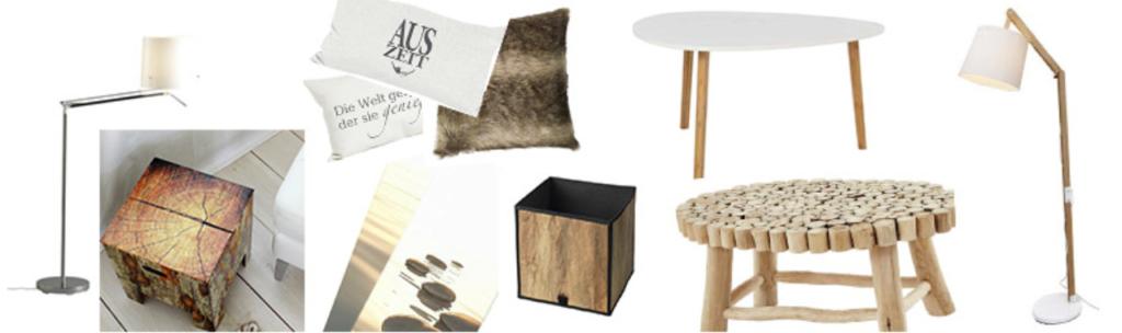 home styling projekt m nner wohnung im naturlook fokus raum. Black Bedroom Furniture Sets. Home Design Ideas