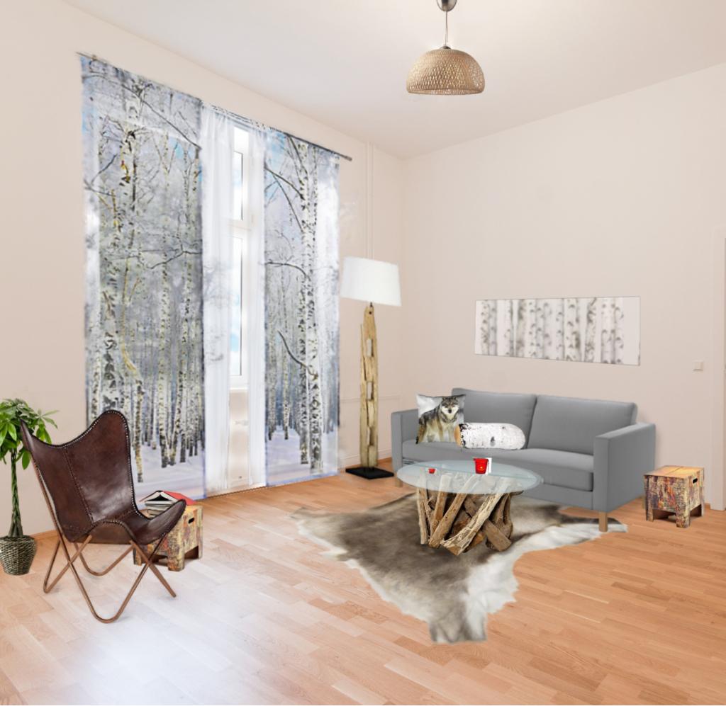 Wohnzimmer Einrichtungsvorschläge: Home Styling, Projekt: Natur Pur Im Wohnzimmer