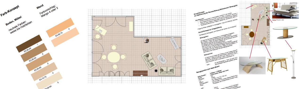Home Styling, Projekt: Neues Wohnkonzept für Wohnzimmer und ...